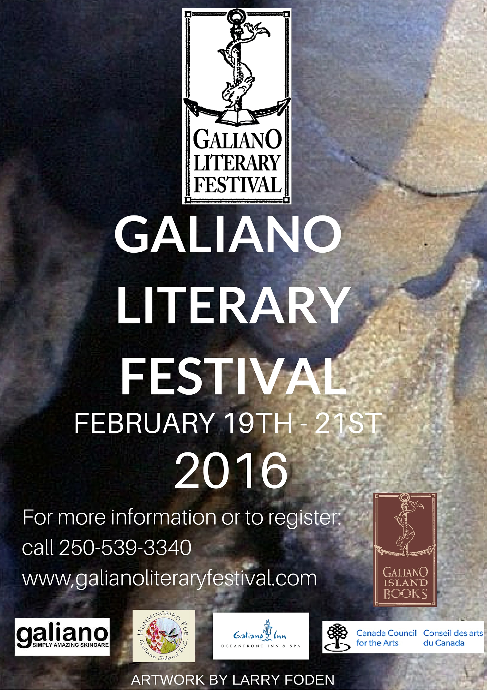 GALIANO ISLAND BOOKS PRESENTS