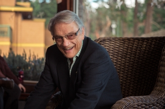 George Bowering at Galiano Island Literary Festival