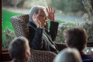 George Bowering (photo by Kris Krüg)