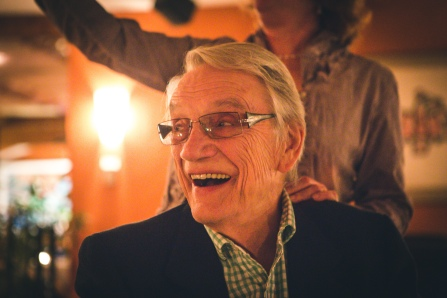 George Bowering (photo by Kris Krüg)