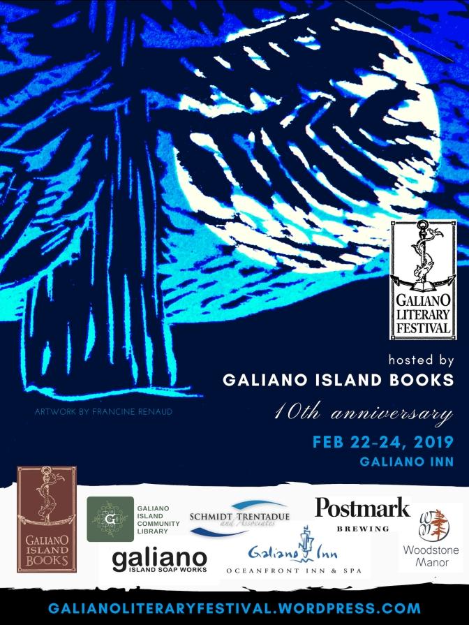 Galiano Lit Fest Poster 2.0
